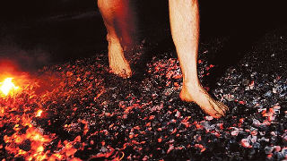 fire walking guidance volunteer news and resources
